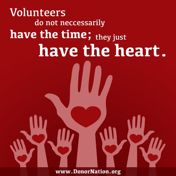At DonorNation, we appreciate and honor school volunteers! Please participate in our annual School Volunteer Award and recognize unsung heroes who make a difference each and every day. #Volunteers #heart #DonorNation