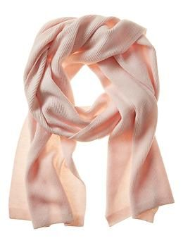 Cozy Cashmere Scarf in Blush