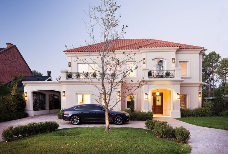 F rnandez borda arquitectura casa estilo cl sico - Fachadas arquitectura ...
