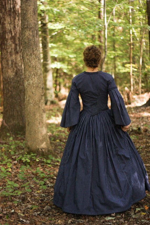 Civil War Dress Costume Reenactment Victorian by garlandofgrace. . reminds me something you would see in North and South. This is stunning!!!!