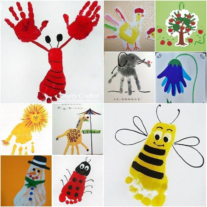 Image result for kids hand art