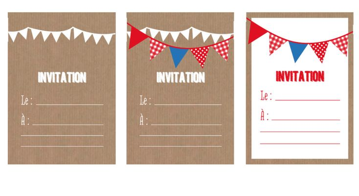 Soirée de fête : un carton d'invitation clé en main !