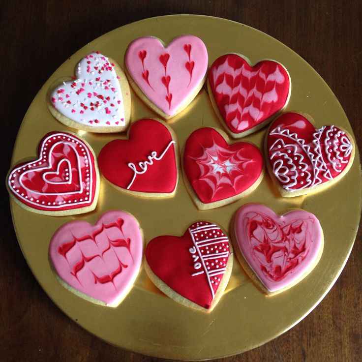 2014 Valentine Cookies by Sorcha Carty