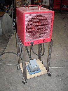 Shop Heater Stand