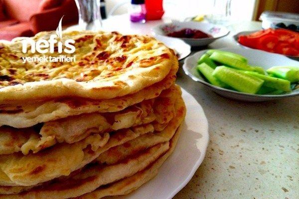 Mayali Patatesli Tava Ekmekleri Yemek Tarifleri Gida Yemek