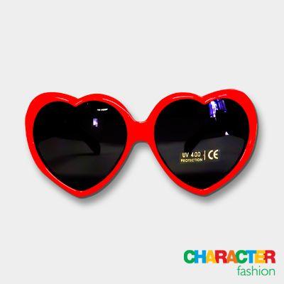 #CharacterFashion Minnie Mouse Heart-Shaped Sunglasses