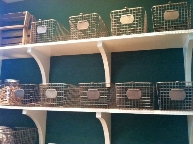 The Wire Baskets For Laundry Room Storage