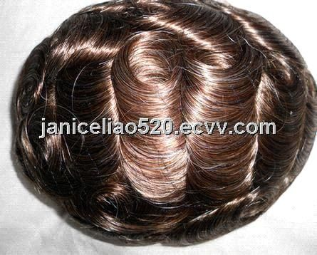 human hair replacement/ hair toupee (Hst13010702) - China hair piece, Hot Style Hair