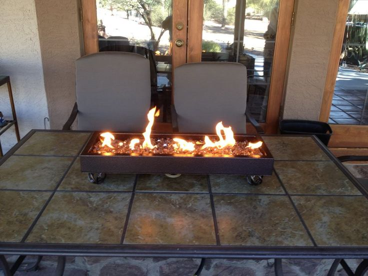 Exceptional Backyard Ideas   Portable Custom Table Top Firepit By AZ Backyard Custom.