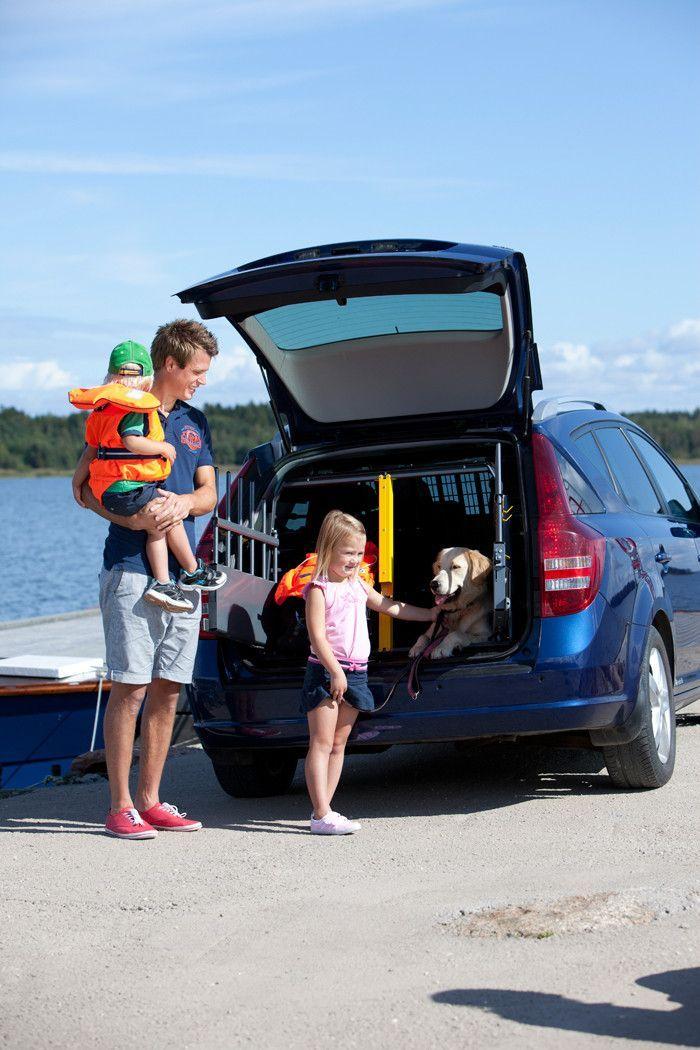 MIM Variocage World's Safest Dog Transport Crate- Double – Heavy Duty Pet Crates #petsafety #carrides