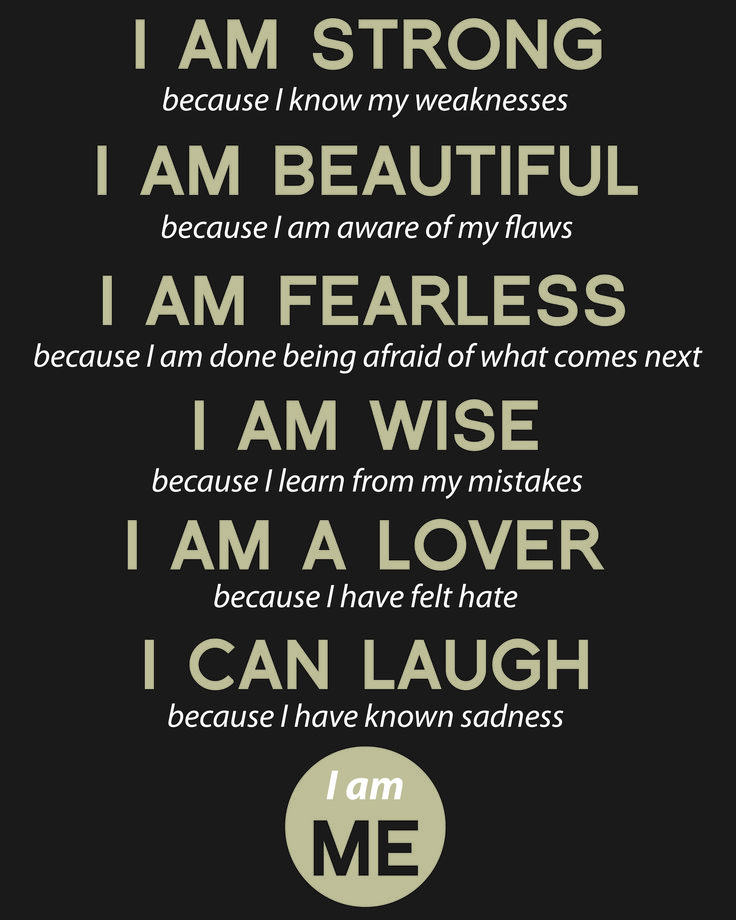 I Am Quotes Gorgeous 24 Best Quote  I Am Images On Pinterest  Inspiration Quotes