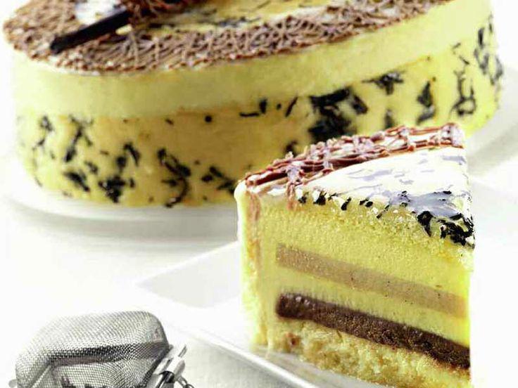 Ricetta Torta alle pere, tè verde al gelsomino e cioccolato
