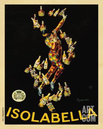 Isolabella, 1910 Art Print by Leonetto Cappiello at Art.com