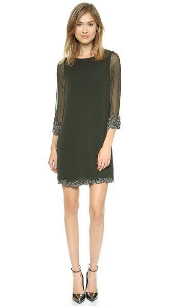 alice + olivia Frieda Embellished Dress