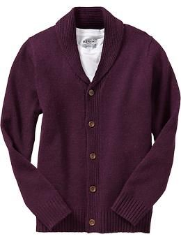 Men's Wool-Blend Shawl Cardigans | Old Navy Dan wants this in either red, brown or the grey with elbow patches