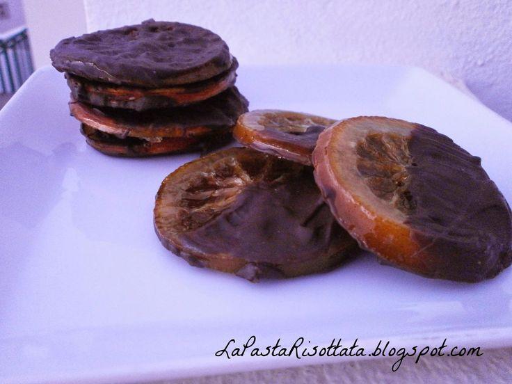 Arance confit ricoperte di cioccolato | Cocinar en casa es facilisimo.com