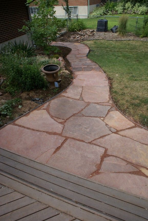 Flagstone Walkways Paths : The best flagstone path ideas on pinterest how to