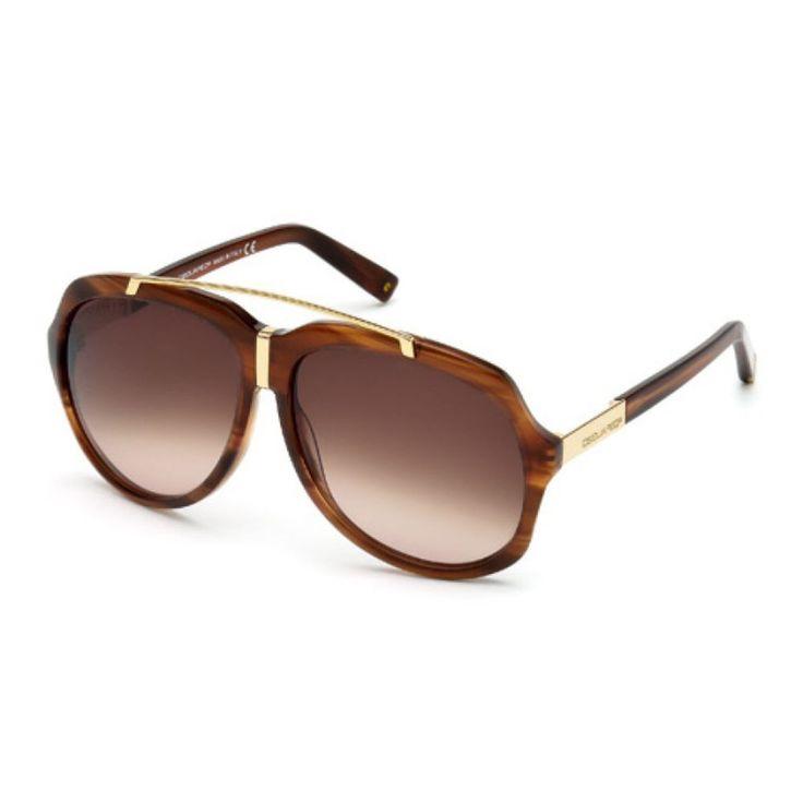 lunettes de soleil DSQUARED homme brun Dsquared2 sunglasses