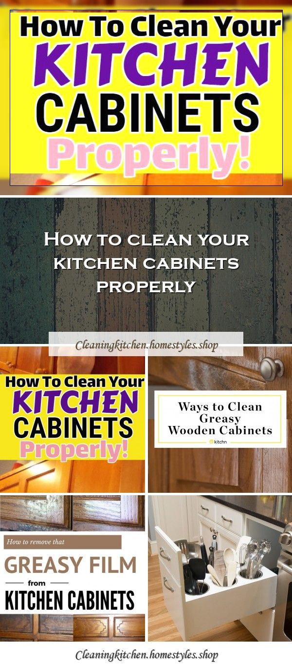 7 No Fail Ways To Clean Greasy Kitchen Cabinetsbest Ways To Clean