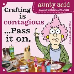 Calling all CRAFT lovers, scissor heads & Glitter Queens, Aunty Acid will be announcing something FANTASTIC soon, for all you people out there who like to keep busy making cards, decoupage artworks and lovely crafty things, keep up to date by liking Aunty Acid's Craft Club FB page and signing up to our mailing list by emailing craftclub@auntyacid.com Pinterest board- http://www.pinterest.com/auntyacid/aunty-acids-crafty-club/  <3