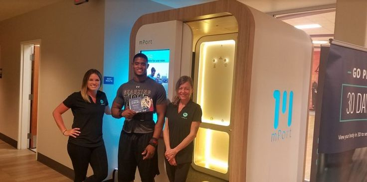 mPort will 3D scan your body measurements at LAFitness
