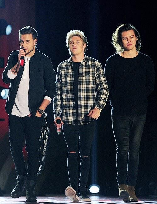Liam, Niall, and Harry❤