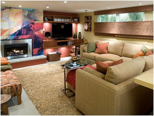 basement decorating ideas on a budget - Basement Decorating Ideas