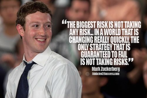 Mark Zuckerberg Picture Quote