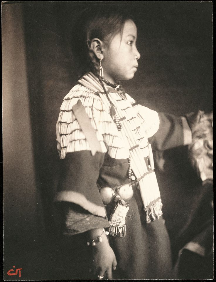 May 18, 1852: Pictorialist photographer Gertrude Käsebier is born. This is her photo of Sioux Indian child Mary Lone Bear.