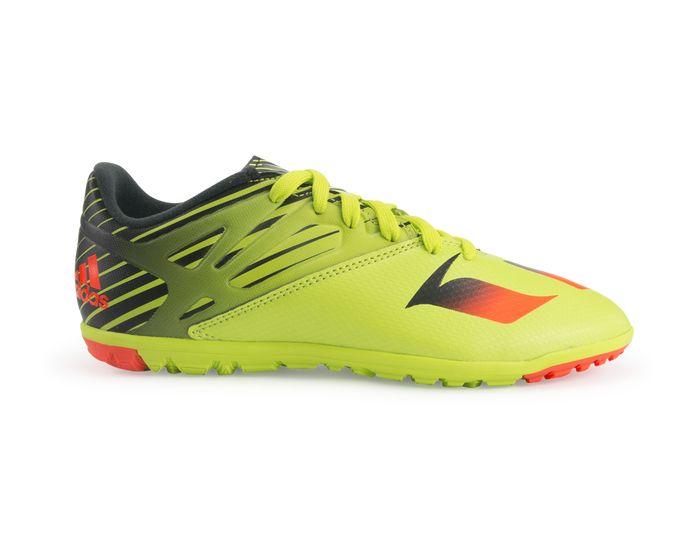 innovative design b74d3 e3cdf ... adidas indoor soccer zapatos messi 15.3 negro rojo amarillo ...