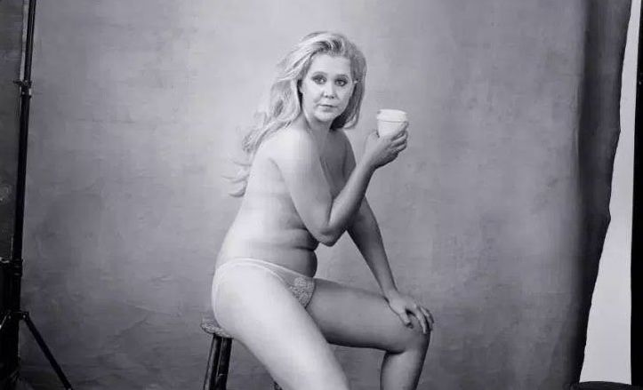 The 2016 Pirelli calendar, featuring Amy Schumer, Serena Williams, Yoko Ono, Patti Smith and others.