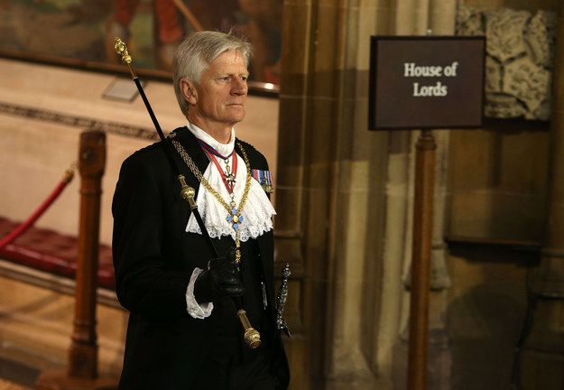 """OK, his full title is """"Gentleman Usher of the Black Rod"""", which obviously makes a lot more sense, but everybody calls him Black Rod. 