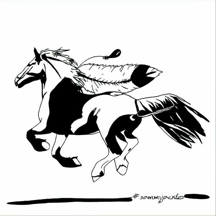 Dreams. #sammyjackles #horse #horseart #art #pets #petart #commission #artcommission #petartcommissions #horsecommissions #horses #illustration #horseillustration