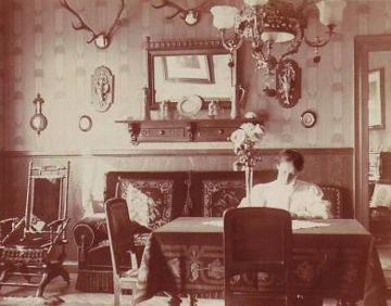 """Dining room 1890's"""