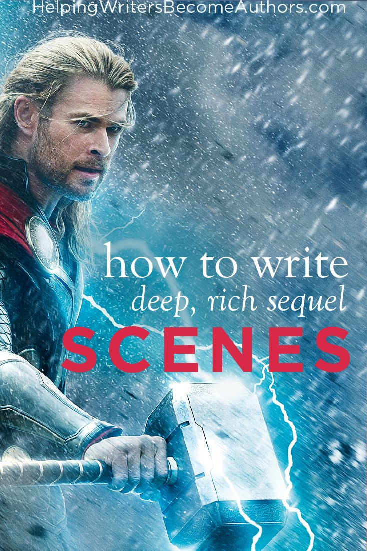 Want to add a meaningful exploration of character to any story? The secret lies in creating deep and rich sequel scenes--the reaction half of the scene.
