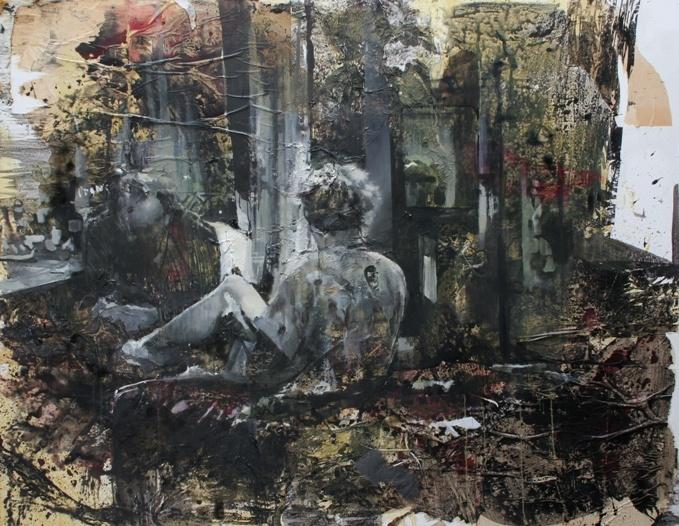 Daniel Pitin, Angel blue, 2011