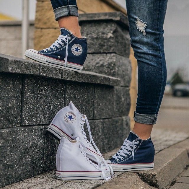 Converse Na Koturnie Hot Or Not Converse Allstar Sneakers Spring Swag Eastendpl Picoftheday Polishg Converse Chucks Converse Chuck Taylor Sneakers
