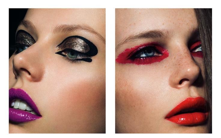 Artistic, bold #makeup
