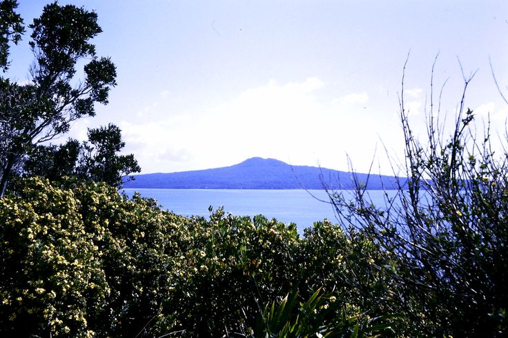 Rangitoto Island; volcanic; just off Auckland