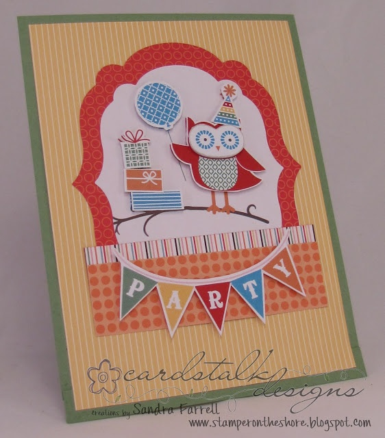 by Sandra Farrell, Stamper On The Shore: Try Stampin' On Tuesday #92