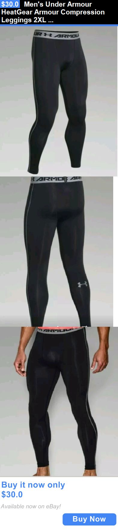 Men Athletics: Mens Under Armour Heatgear Armour Compression Leggings 2Xl Xxl 1257474 001 Nwt! BUY IT NOW ONLY: $30.0
