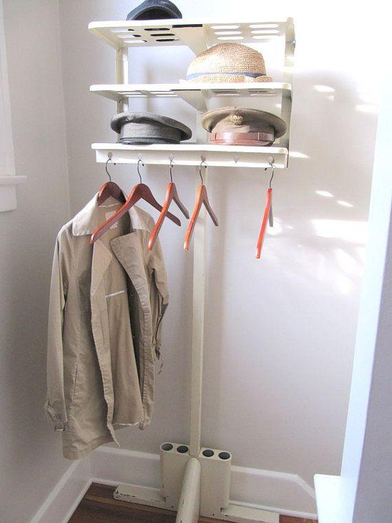 69 best images about Inside Mudroom Coat Racks on Pinterest
