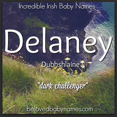 Delaney is an attractive Irish surname-turned-first name that's been completely taken over for girls. If it's popularity for girls doesn't bother you though, it could still make a cool name for a boy. The nickname Laney makes this name even more appealing.