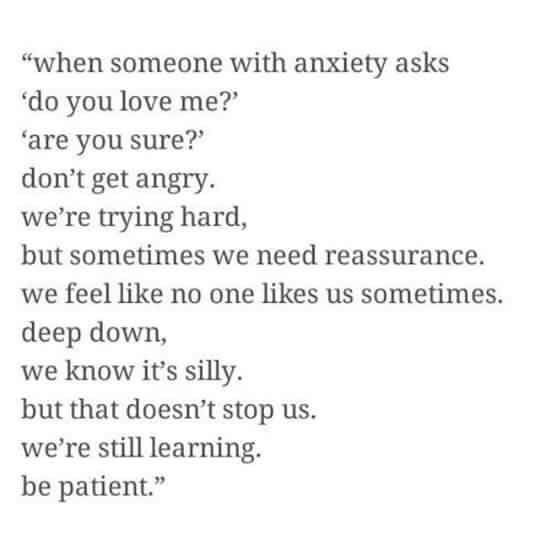 I've never really thought I had anxiety but I fit perfectly with so many of these things. I dunno. I probably don't have it but this is definitely me. 100%