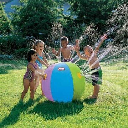 7 Awesomely Unique Kids' Water Sprinklers Sure To Make A Splash ... see more at Inventorspot.com