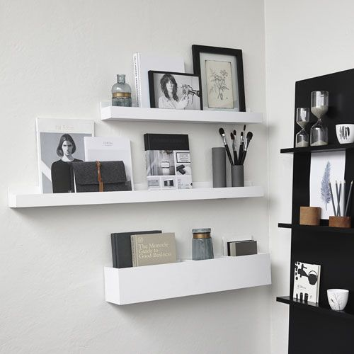 porte courrier porte photo mural en bois blanc h bsch achats maison pinterest murals. Black Bedroom Furniture Sets. Home Design Ideas