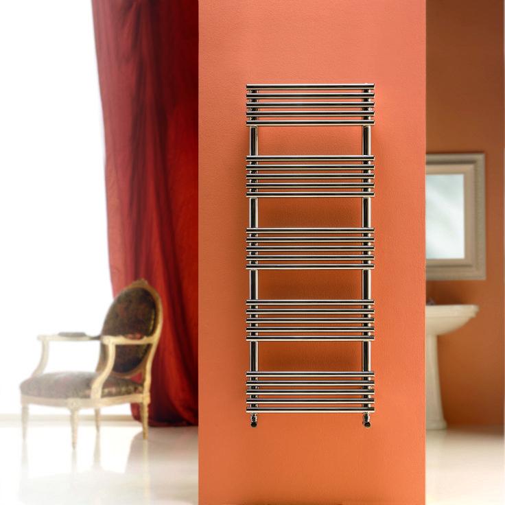 Peachy towel rails from Simply Radiators.