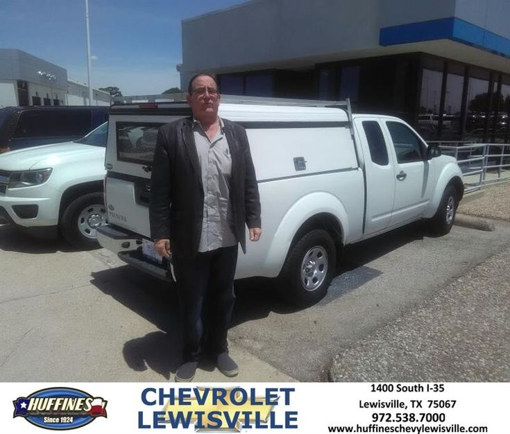 Congratulations Michael on your #Nissan #Frontier from David Rumple at Huffines Chevrolet Lewisville!  https://deliverymaxx.com/DealerReviews.aspx?DealerCode=UBM1  #HuffinesChevroletLewisville
