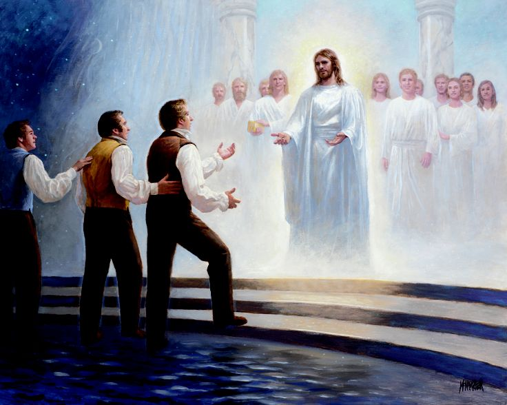 """Joseph Smith's Last Dream"" by Jon McNaughton"