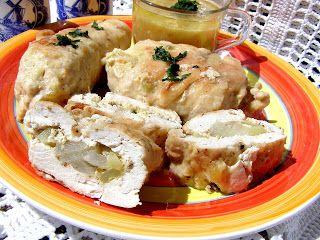 W Mojej Kuchni Lubię.. : roladki z piersi kurczaka...